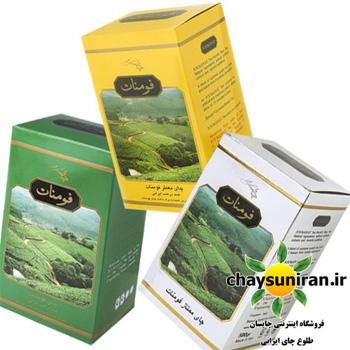 بسته مصرفی خانواده چای های فومنات